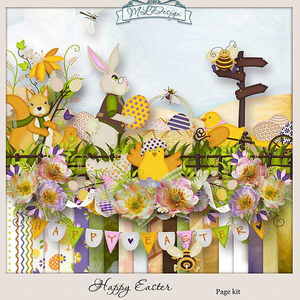 Happy Easter by MLDesign_ kit