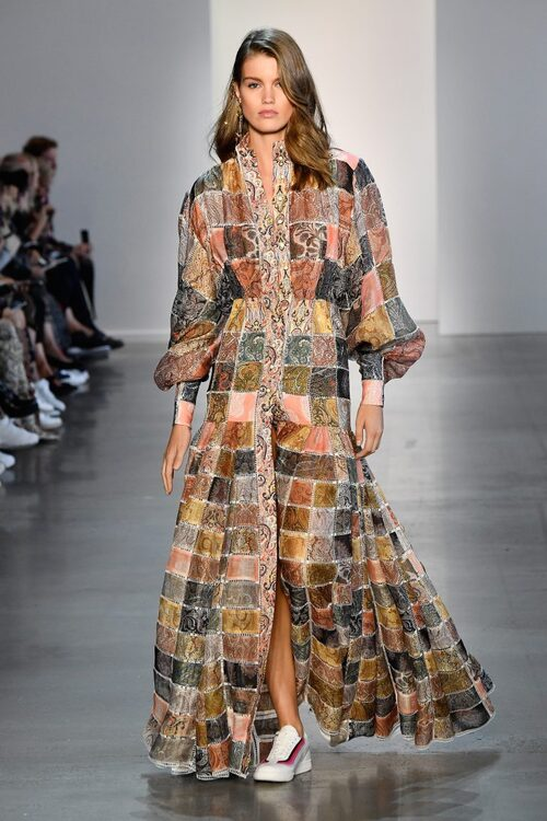 Patchwork is the new black! TENDANCE AU NYFW