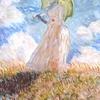 6 La femme à l ombrelle de Monet