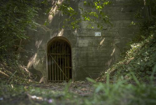 Cheminée d'aération à Blegny