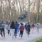 ASFI : entraînement au parc de Sceaux 28/12/2016