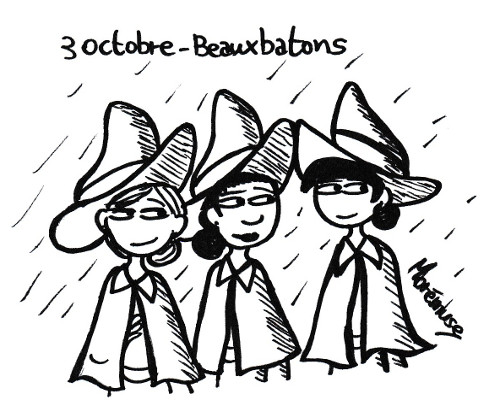 Inktober Harry Potter jour 3