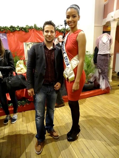 Miss France et ses dauphines à Châtillon sur Seine...