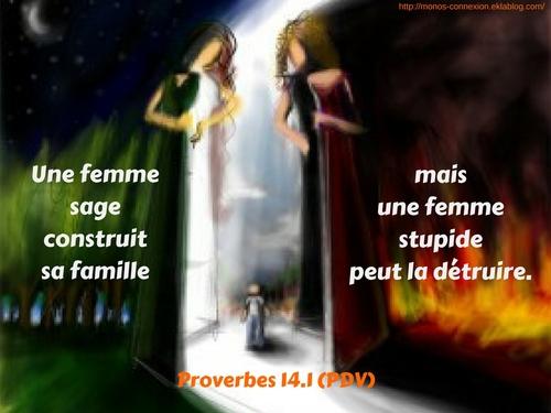 Proverbes 14 - Lecture et Prière