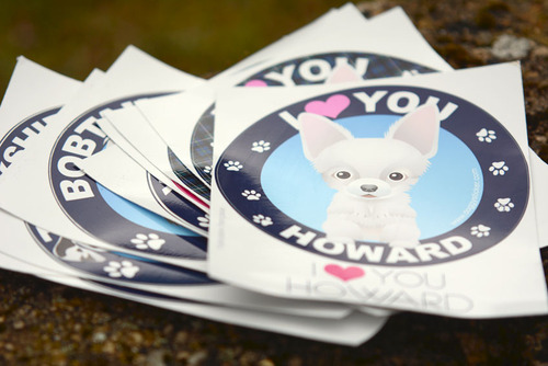 Doggy Sticker : Son toutou à coller partout !
