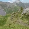 Col où on quitte la crête Nord du pic des Sècres pour basculer vers la vallée de la Canau