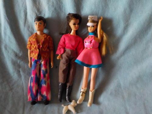 DOMANDALAS  mes poupées d'enfance  Dawn et ses copines suite