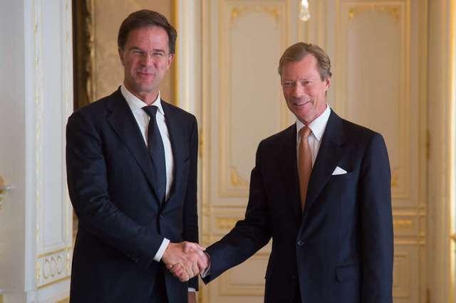 Audience du Premier ministre du Royaume des Pays-Bas