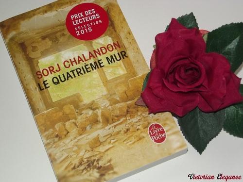 """""""Le quatrième mur"""" - Sorj Chalandon"""