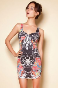 demelza dress cosmic boogle half