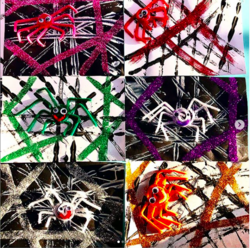 Arts visuel : l'araignée dans sa toile