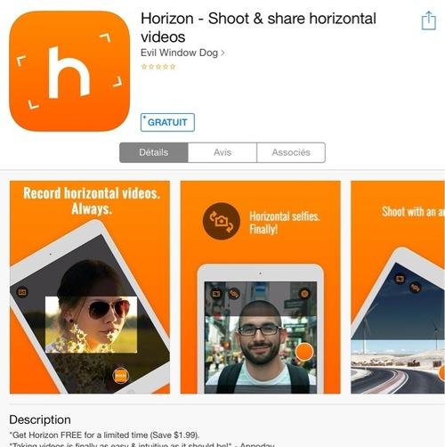 [appli] Horizon