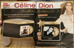 N° 1 Collection les disques d'or Céline Dion