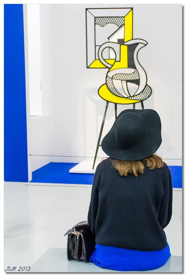 Roy Lichtenstein Beaubourg