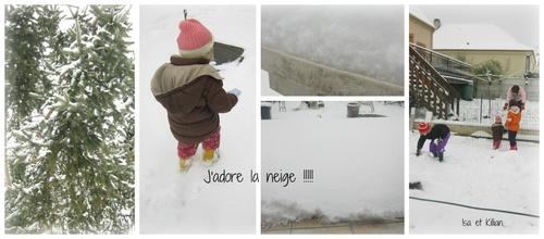 De la neige, de la neige et .....de la neige !!^^