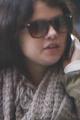 CANDIDS : Selena allant déjeuner