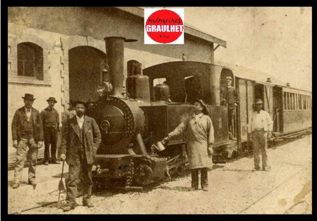 - La gare de Graulhet : INEDIT