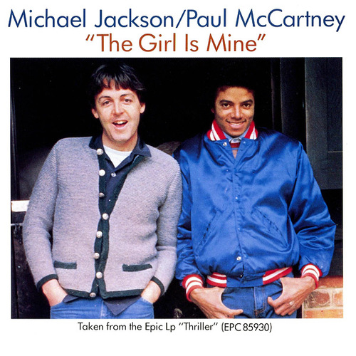 JACKSON, Michael - Girl is Mine, feat. Paul McCartney  (Soft Rock Café)