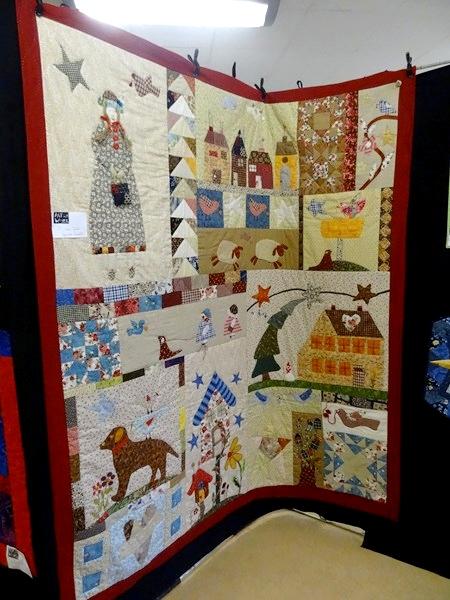 Une très belle exposition de patchwork à la MJC Lucie Aubrac