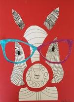 Lapins à lunettes