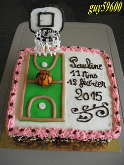 gâteau anniversaire de ma petite fille