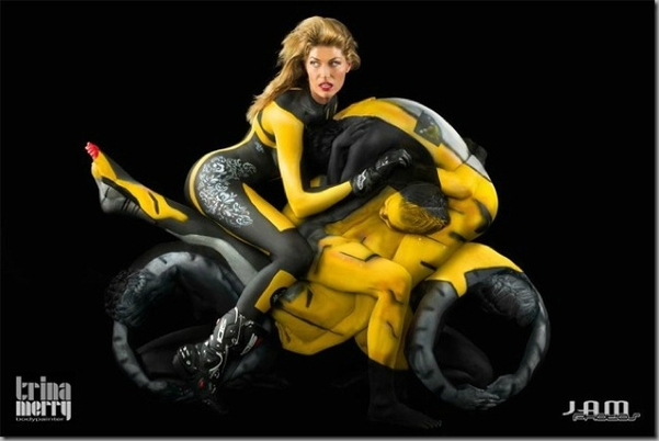 Body-Painting-motos-par-Trina-Merry