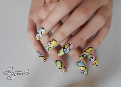 Nail Art Colorful Nails