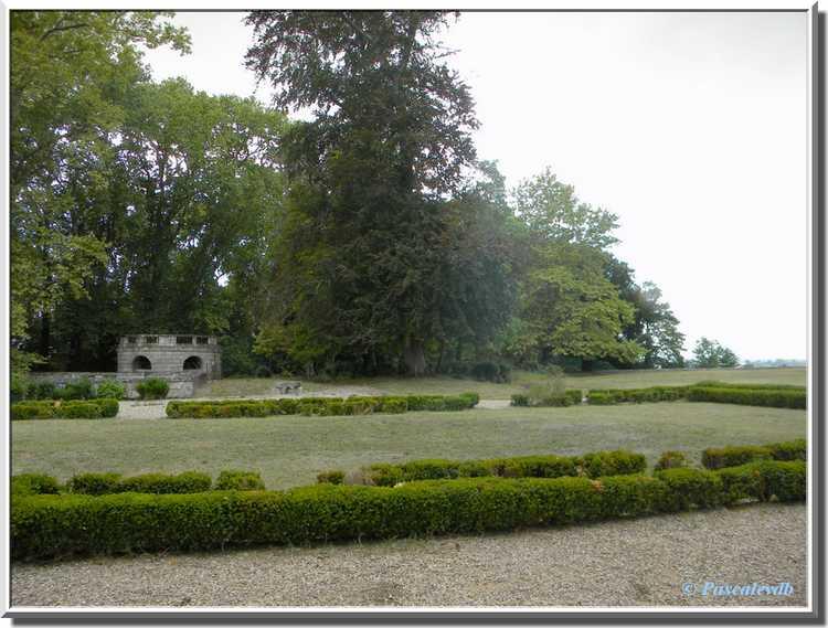 Château du Bouilh - le parc