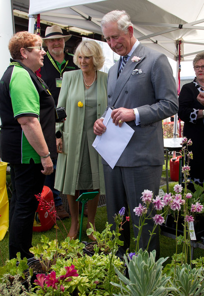Charles et Camilla à Fielding