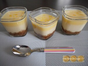 Cheesecake individuel au speculoos et lemon curd (Seb Multi Délices)