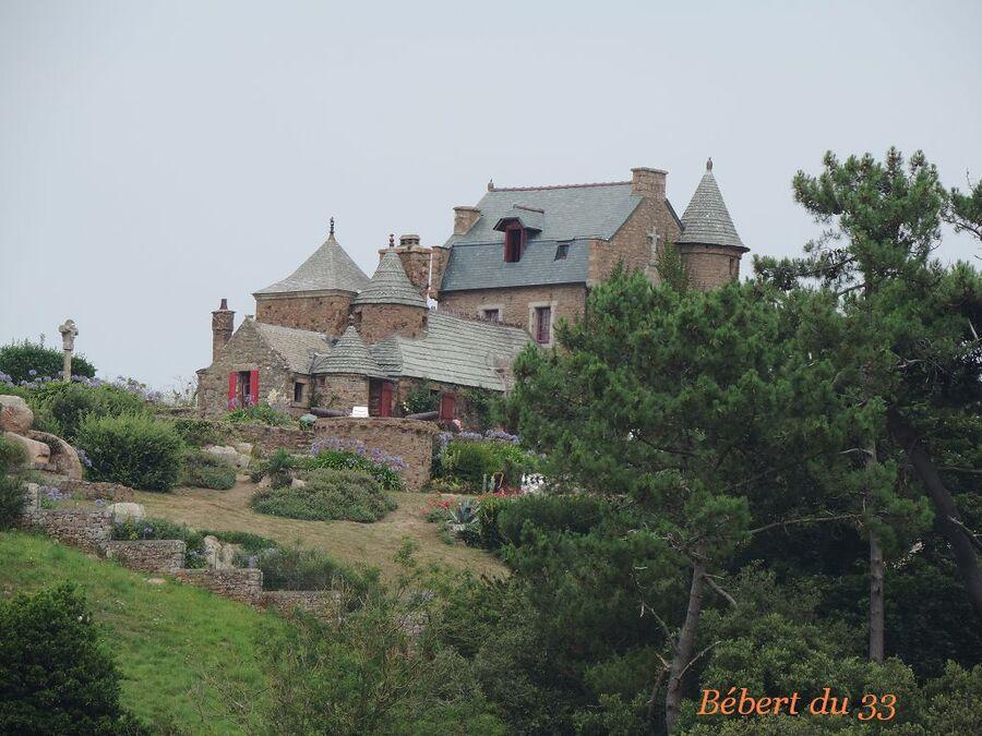 l'Ile de Bréhat dans les côtes d'Armor