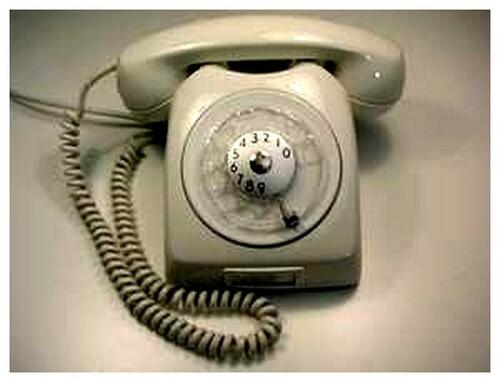 Le téléphone à cadran