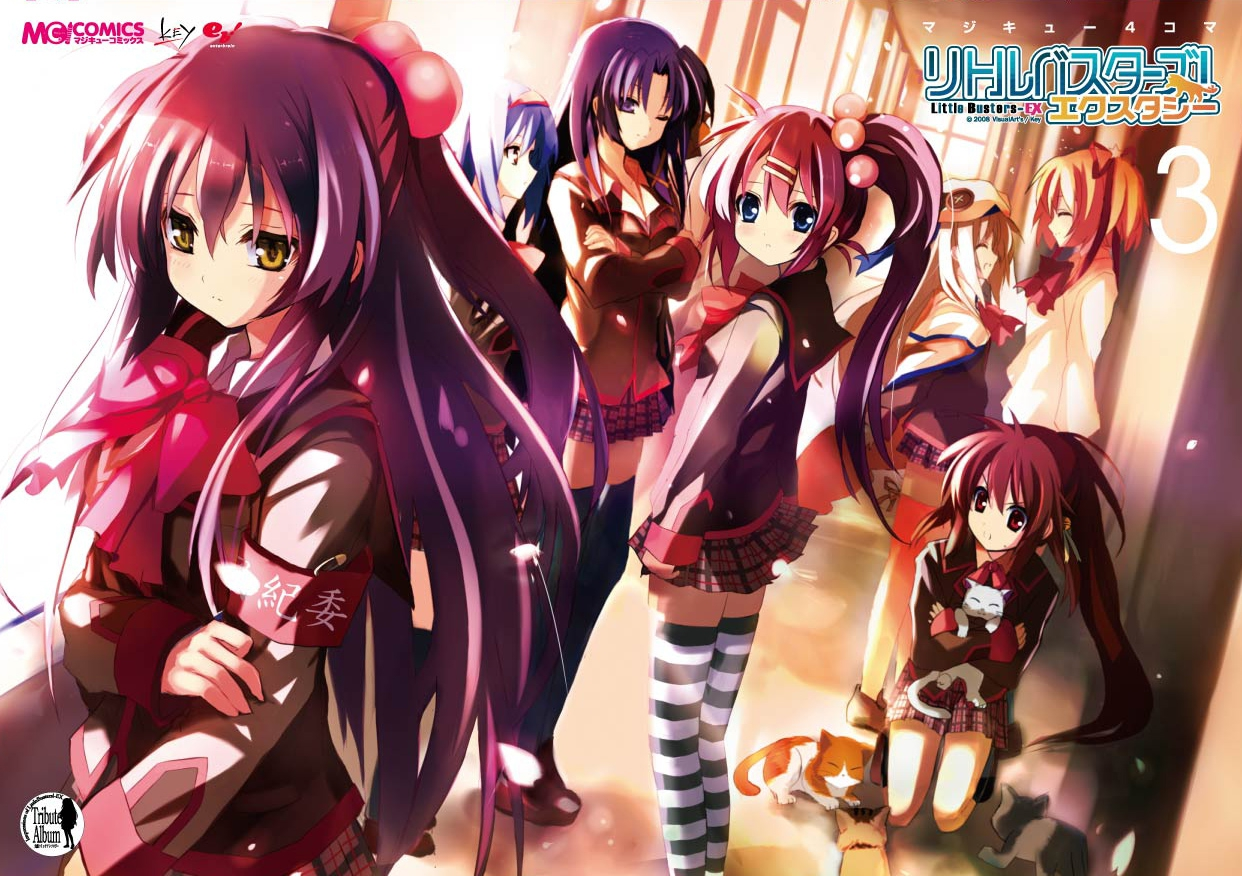 Little Busters anime vostfr