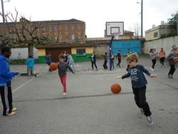 Opération Basket école en CM2