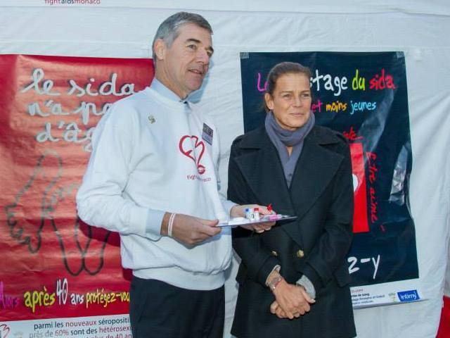 Stéphanie contre le sida (suite)