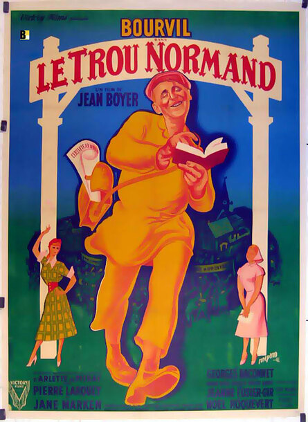 LE TROU NORMAND - BOX OFFICE BRIGITTE BARDOT 1952