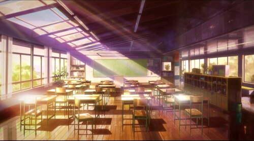Salle de cours 3ème niveau