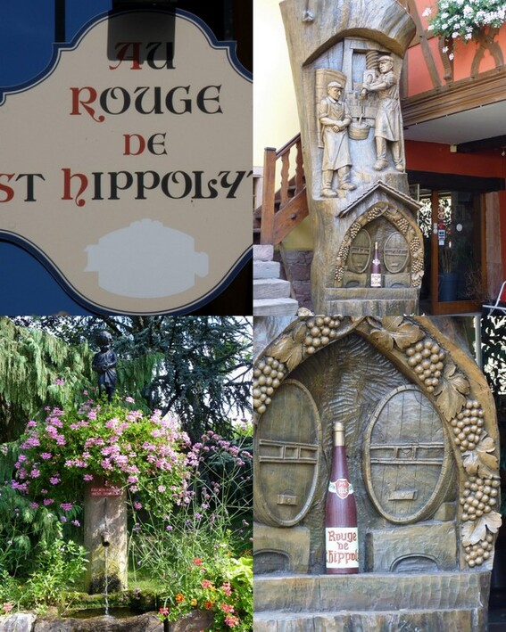 sur notre chemin en Alsace