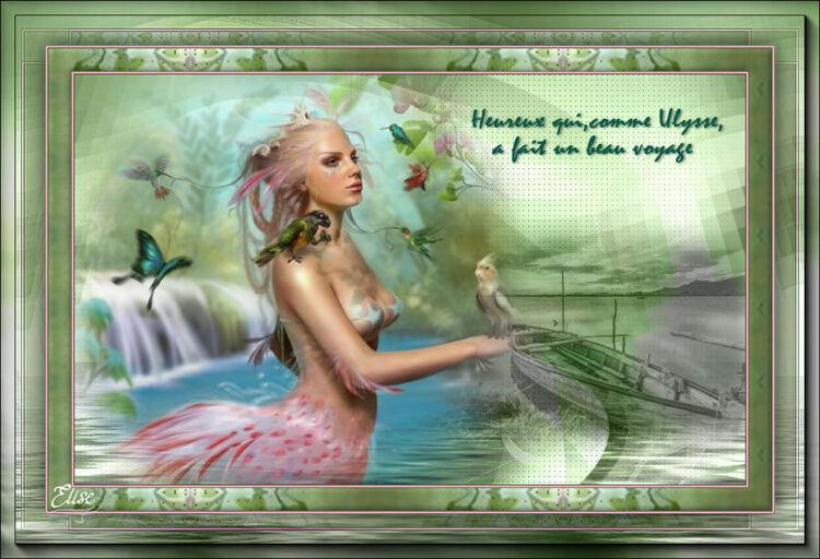 Mermaid de Saturnella PSP