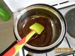 Les citrouilles en coque de chocolat