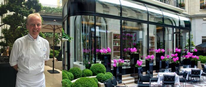 Restaurants:  L'Orangerie, le temple de l'Art déco culinaire