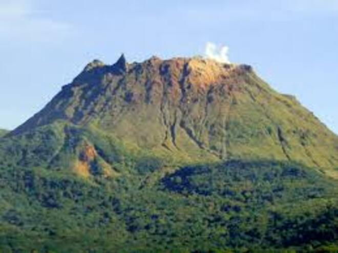 Le volcanisme de la Gouadeloupe 4e B