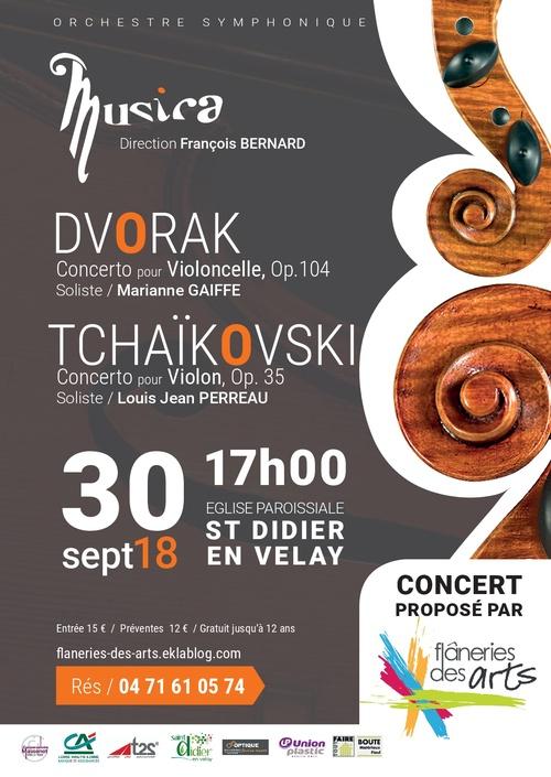 Flâneries d'automne 2018 concert donné par l'Ensemble Symphonique Musica