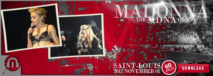 The MDNA Tour - Saint-Louis - Pictures