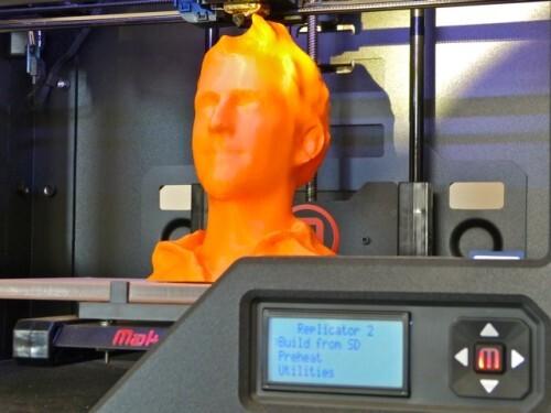 imprimante 3D BHV tête