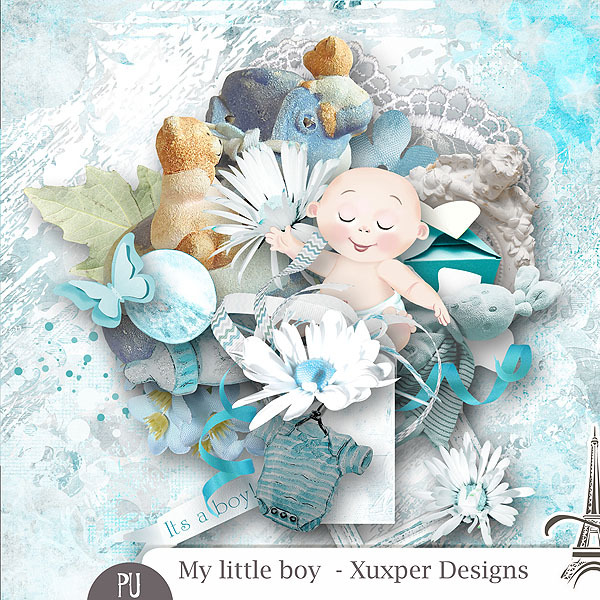 My little boy Miikit de Xuxper Designs