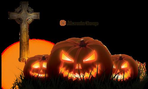 Tubes d'Halloween - les citrouilles - page 8