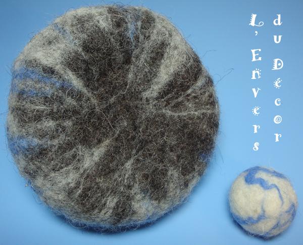 Atelier laine feutrée