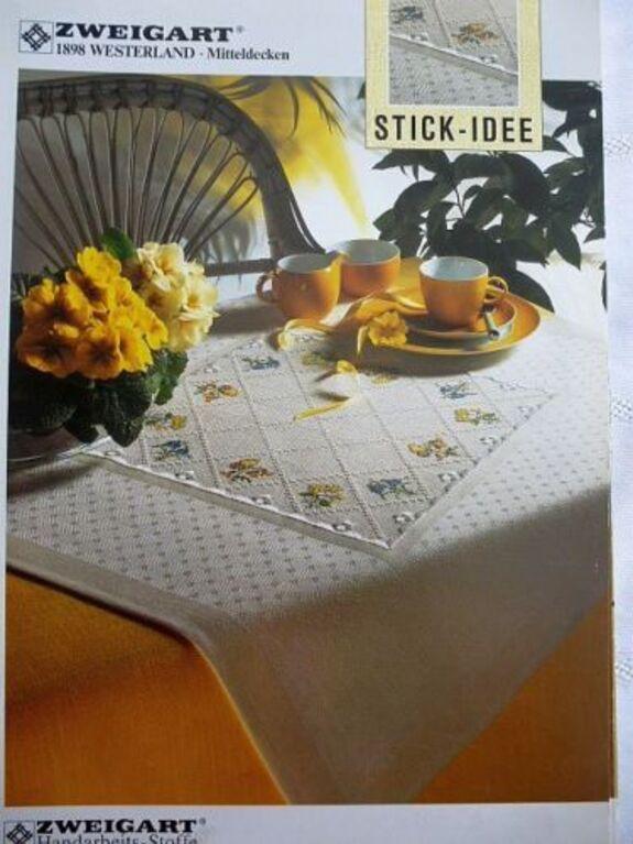 Zweigart-Stickvorlage-Stick-Idee-1898-Westerland-Mitteldecken