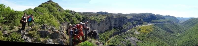 Retour au pas de l'Escalette du coté des Gavaches